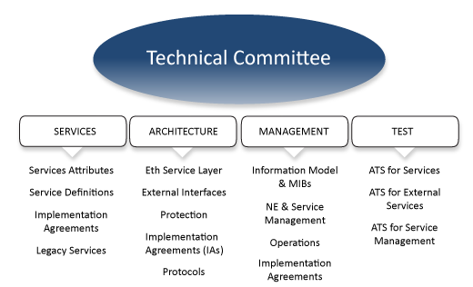 Technical Committee Areas of Work