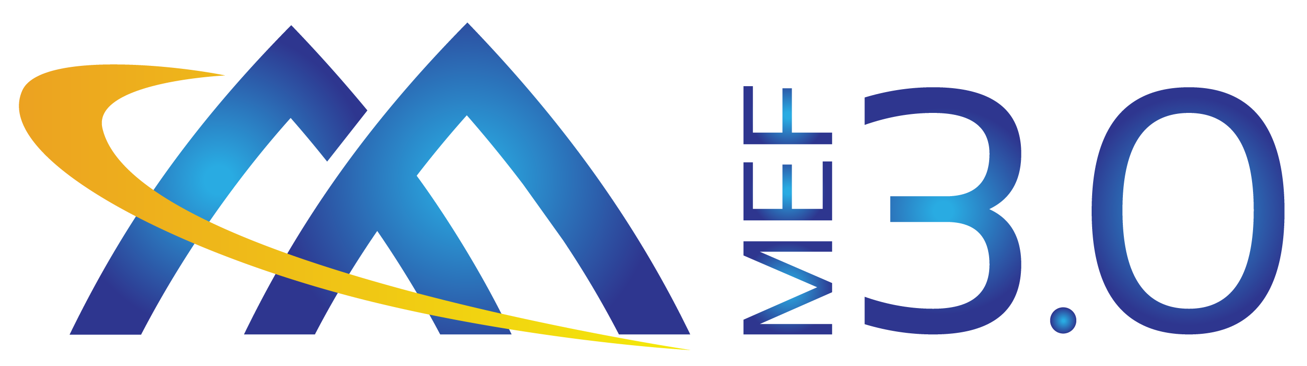 MEF Official MEF30 Logo Gradient Yellow Blue RGB Oct-22-2017-01