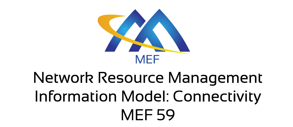 Network Resource Management - Information Model: Connectivity