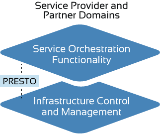 Intra-Domain Network Orchestration Interface