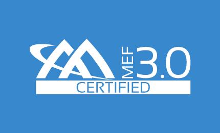MEF Certified 3.0 Logo - Blue