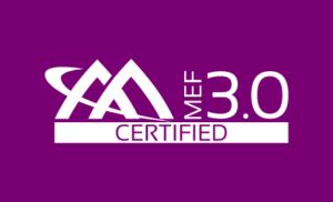 MEF 3.0 Certified Logo - Purple