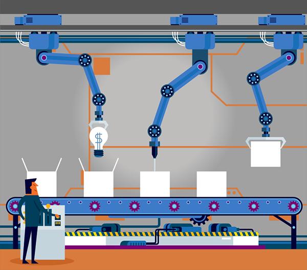 cartoon illustration automation